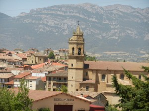 Elciego, home to Marquis Riscal Winery