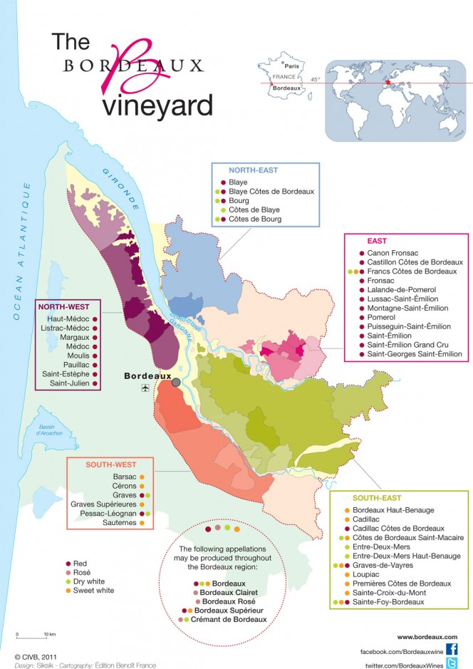 Wine Regions of Bordeaux
